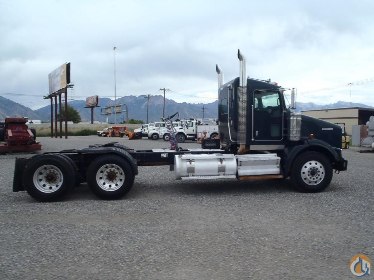 2009 KENWORTH BR350 Semi Truck  Trailers KENWORTH T800 Equipment Sales Inc 18205 on CraneNetworkcom